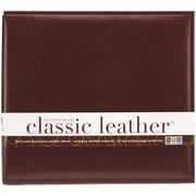 We R Memory Keepers We R Classic Leather Postbound Album, 12 x 12, Cinnamon