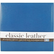 We R Memory Keepers We R Classic Leather Postbound Album, 12 x 12, Country Blue
