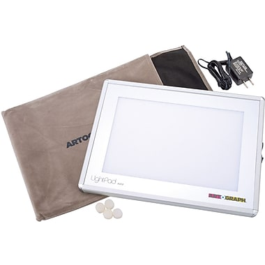 Artograph Light Pad Light Box, 8.6in. x 11.6in. x .625in.