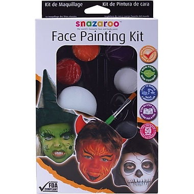 Reeves Snazaroo Face Painting Kit, Halloween (1180118)