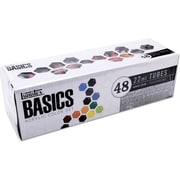 Reeves Liquitex Basics Non-toxic 0.73 oz. Acrylic Paint, 48/Set (101048)