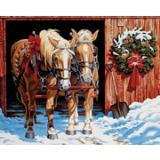"Dimensions Paint By Number Craft Kit Painting, 20"" x 16"", Ready For The Ride (91423)"