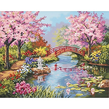 Dimensions Paint By Number Kit, 20in. x 16in., Japanese Garden