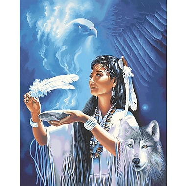 Dimensions Paint By Number Kit, 16in. x 20in., Native American Spirit