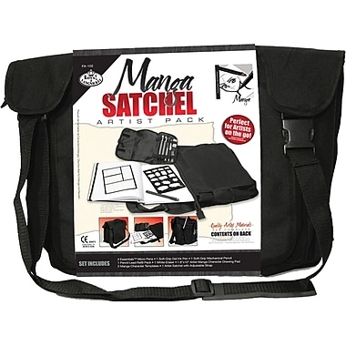 Royal Brush Satchel Artist Pack, Manga