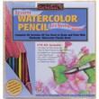 General Pencil Learn Watercolor Pencil Techniques Now! Kit