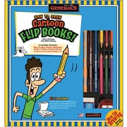 General Pencil How To Draw Cartoon Flip Books Kit