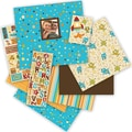 K&Company Rowdy Boy Scrapbook Album Kit, 12in. x 12in.