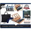 Royal Brush Easel Art Set With Easy To Store Bag, Acrylic