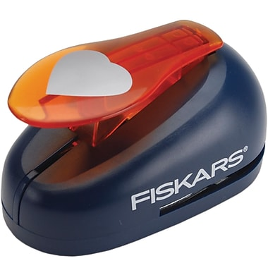Fiskars X-Large Lever Punch, Heart, 2in.