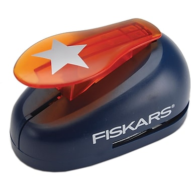 Fiskars X-Large Lever Punch, Star, 2in.