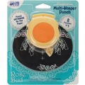 Blue Hills Studio Magnetic Multi-Shaper Punch, Rose Bud