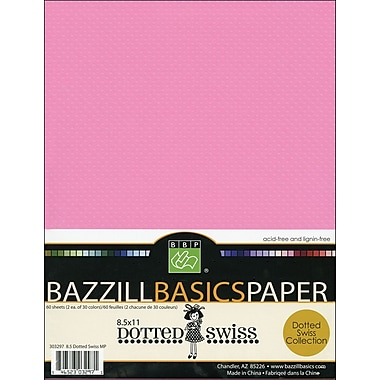 Bazzill Dotted Swiss Multi-Pack, 8.5in. x 11in.
