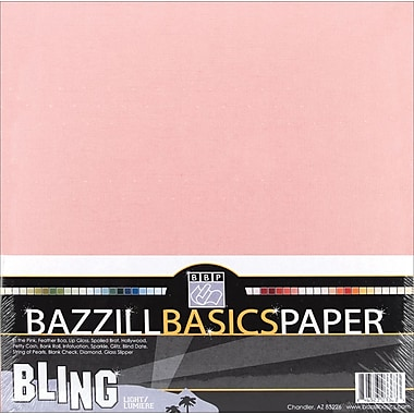 Bazzill Bling Multi-Pack, 12in. x 12in., Lights