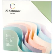 "American Crafts Cardstock Pack, 12"" x 12"", Pastels"