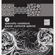 """Me & My Big Ideas MAMBI Specialty Cardstock Pad, 12"""" x 12"""", Black & White"""