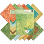"K&Company Nature Designer Paper Pad, 12"" x 12"" - 36 Double-Sided Sheets"