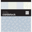 Me & My Big Ideas Specialty Cardstock Pad 12in. x 12in. 48 Sheets-Baby Boy-24 Designs/2 Each