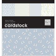 Me & My Big Ideas Specialty Cardstock Pad 12 x 12 48 Sheets-Baby Boy-24 Designs/2 Each