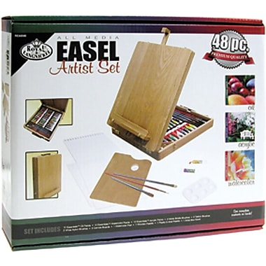 Royal Brush Easel Artist Set-All Media, 48 Pieces