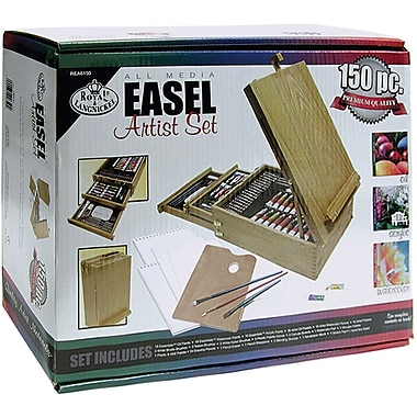 Royal Brush Easel Artist Set-All Media, 150 Pieces