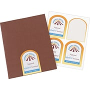 Avery® 22826 Print-to-the-Edge Textured White Arched Labels, Matte, 3-1/2 x 4-3/4, 40/Pack