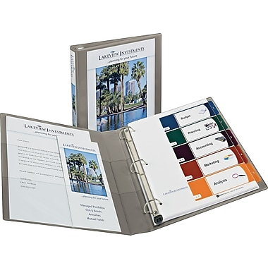 1in. Avery® Heavy-Duty View Binders with One Touch™ EZD® Rings, Sand