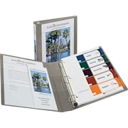 1 Avery® Heavy-Duty View Binders with One Touch™ EZD® Rings, Sand