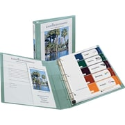 1 Avery® Heavy-Duty View Binders with One Touch™ EZD® Rings, Sea Green
