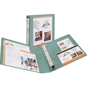 1-1/2 Avery® Heavy-Duty View Binder with One Touch™ EZD® Rings, Sea Green