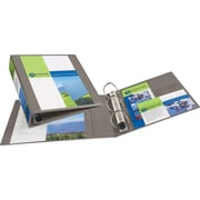 2 Avery® Heavy-Duty View Binders with One Touch™ EZD® Rings, Sand