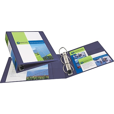 2in. Avery® Heavy-Duty View Binders with One Touch™ EZD® Rings, Purple