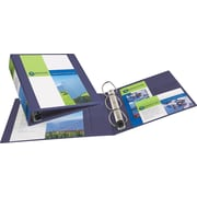 2 Avery® Heavy-Duty View Binders with One Touch™ EZD® Rings, Purple