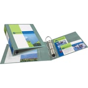 2 Avery® Heavy-Duty View Binders with One Touch™ EZD® Rings, Sea Green