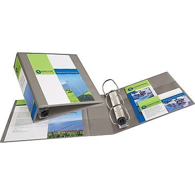 3in. Avery® Heavy-Duty View Binder with One Touch™ EZD® Rings, Sand