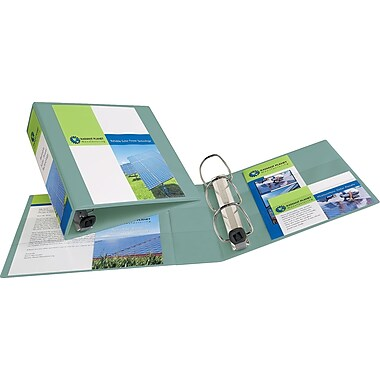 3in. Avery® Heavy-Duty View Binder with One Touch™ EZD® Rings, Sea Green