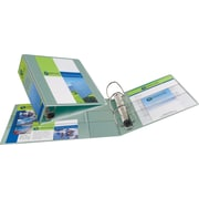 4 Avery® Heavy-Duty View Binders with One Touch™ EZD® Rings, Sea Green