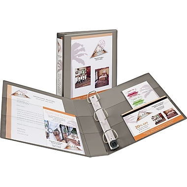 1-1/2in. Avery® Heavy-Duty View Binder with One Touch™ EZD® Rings, Sand