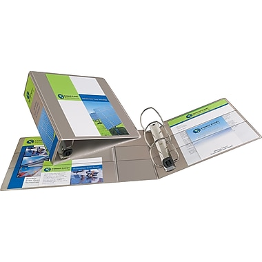 4in. Avery® Heavy-Duty View Binders with One Touch™ EZD® Rings, Sand
