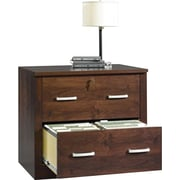 Sauder® Office Port Lateral File, Dark Alder