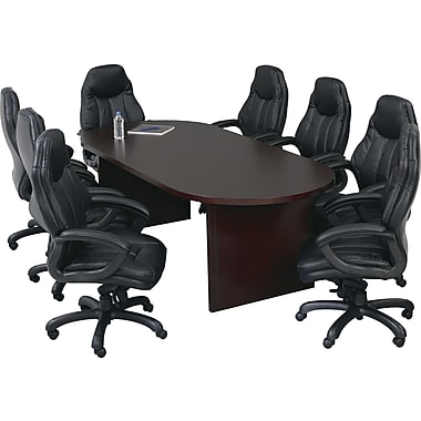 Office Star Oval Wood Veneer Conference Tables