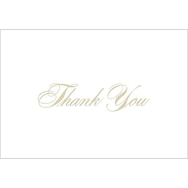 Great Papers® Gold Thank You Note Cards with Envelopes