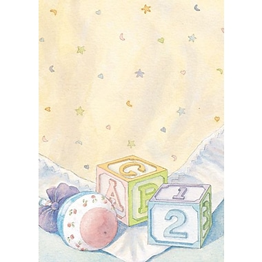 Baby Blocks and Quilt Invitations and Envelopes
