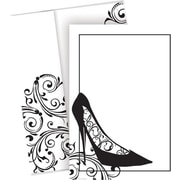 Great Papers® Black Stiletto Varnished Invitations with Envelopes