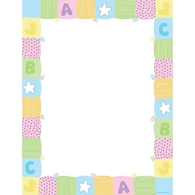 Great Papers® Pastel Baby Quilt Letterhead
