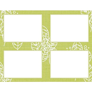 Great Papers® Organic Citrus Leaves 4-up Postcards
