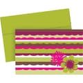 Great Papers® Organic Citrus Scallops Note Cards