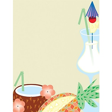 Great Papers® Summer Beverage Letterhead