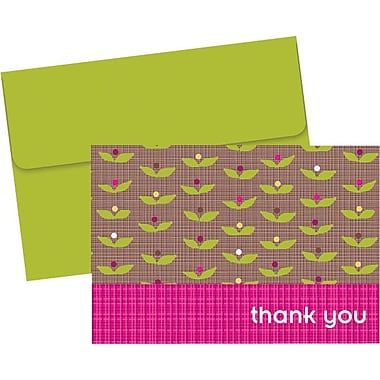Great Papers® Organic Citrus Garden Thank You Note Cards