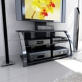 Sonax® Milan Hybrid 45.75in. TV Stand, Gun Metal